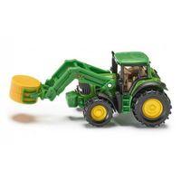 Traktory dla dzieci, SIKU 1379 Traktor z chwytakiem do bel. Darmowy odbiór w niemal 100 księgarniach!