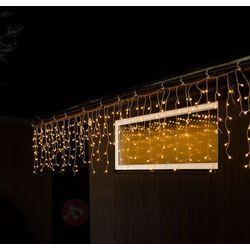Zewn. zasłona LED Deszcz ze śniegiem, 400-pkt