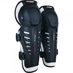 FOX JUNIOR TITAN RACE BLACK OS Ochraniacz kolan