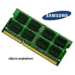 Pamięć RAM 2GB DDR3 1333MHz do laptopa Samsung Series R Notebook R530 2GB_DDR3_SODIMM_1333_109PLN (-0%)
