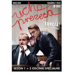 Ucho Prezesa. Sezon 1 (3DVD) + Książka