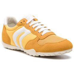 Sneakersy GEOX - D Snake A D7212A 01122 C2006 Dk Yellow