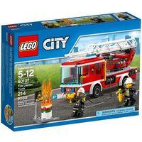 Klocki dla dzieci, Lego CITY Wóz strażacki 60107