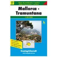 Mapy i atlasy turystyczne, Majorca - Tramuntana (opr. miękka)