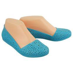AXIM 7KL1547 niebieski, baleriny, buty do wody damskie - Niebieski