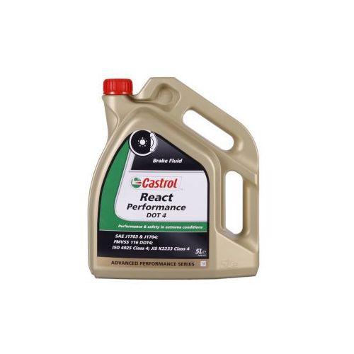 Płyny hamulcowe, Castrol REACT Performance DOT 4 5 Litr Pojemnik