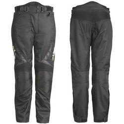 Uniwersalne motocyklowe spodnie W-TEC Mihos, Czarny, S
