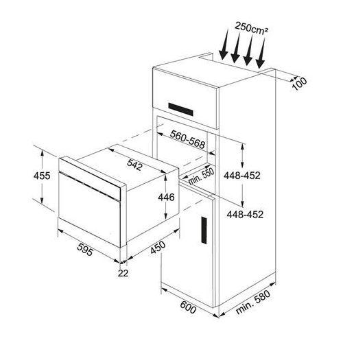 Mikrofalówki do zabudowy, Franke FMW 380