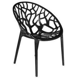 Krzesło Girona czarne