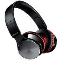 Słuchawki, Słuchawki nauszne MELICONI Cuffia Speak Air Czarno-czerwony