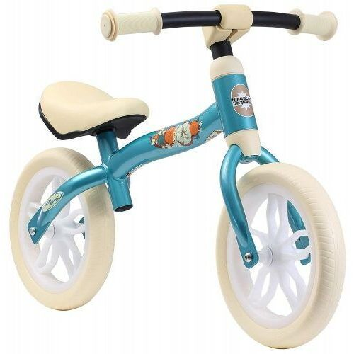 Rowerki biegowe, Rowerek biegowy 10 eva BIKESTAR obracana rama 2w1 lekki 3kg turkusowy