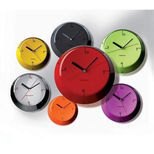 Zegary, Bugatti - Glamour zegar ścienny, czarny