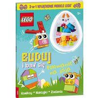 Książki dla dzieci, LEGO. Buduj i baw się. Polowanie na jaja (opr. broszurowa)