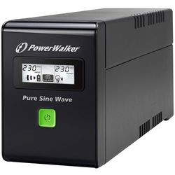 UPS POWER WALKER LINE-I 800VA 3xIEC RJ11/45 IN/OUT USB LCD