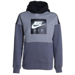 Nike Performance AIR HOODIE Bluza z kapturem carbon heather/black/dark grey/white