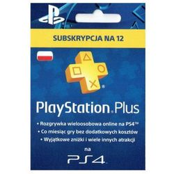 PlayStation Plus - abonament na 365 dni