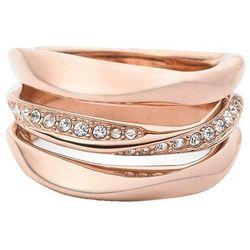Biżuteria Fossil - Pierścionek JF01321791505 170 Rozmiar 13 - SALE