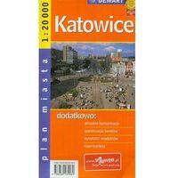Mapy i atlasy turystyczne, Katowice plan miasta - Praca zbiorowa (opr. broszurowa)