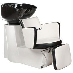 Myjnia fryzjerska LUIGI BR-3542 biało-czarna