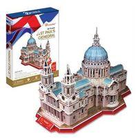 Puzzle, Puzzle 3D Katedrála Sv.Pavla - 117 dílků neuveden