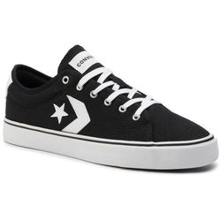 Tenisówki CONVERSE - Star Replay Ox 163214C Black/White/White