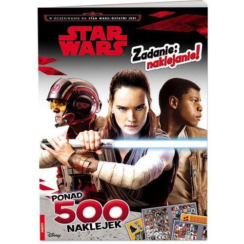 Książki dla dzieci, Lego Star Wars Zadanie naklejanie - Praca zbiorowa (opr. broszurowa)