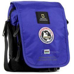 National Geographic EXPLORER mała torba / saszetka na ramię / N01105.45 - niebieski