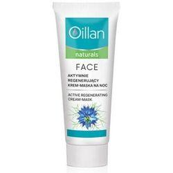 Oillan naturals aktywnie regenerujący krem-maska do twarzy 50ml
