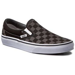 Tenisówki VANS - Classic Slip-On VN000EYEBPJ Black/Pewter Checkerboard