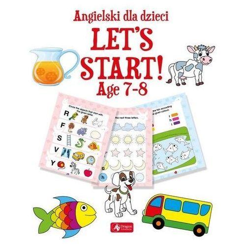 Książki do nauki języka, Angielski dla dzieci. Let's Start! Age 78 (opr. miękka)