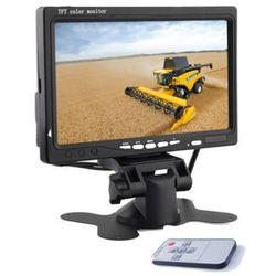 Monitor 7 Cali do samochodu pod kamery cofania