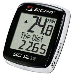 02120 Licznik rowerowy SIGMA BC 12.12 przewodowy, PL Menu, z termometrem