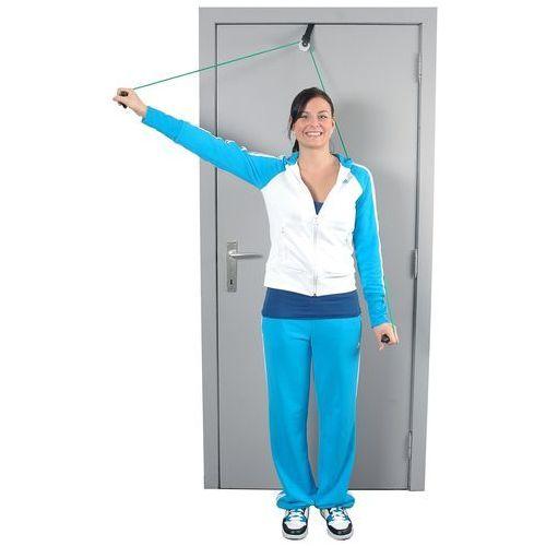 Pozostały sprzęt rehabilitacyjny, Przelotka do ćwiczeń mięśni i ramion z linką i uchwytem do drzwi MoVes Shoulder Rope Pulley - 01-400101