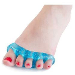 Silikonowe separatory palców stóp młoteczkowate