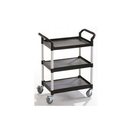 Wózki i stoły narzędziowe, Wózek uniwersalny,3 piętra, nośność 250 kg
