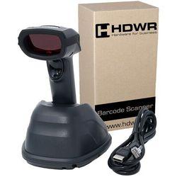Bezprzewodowy skaner kodów kreskowych 1D HDWR HD-8900 ze stacją ładującą | MHx