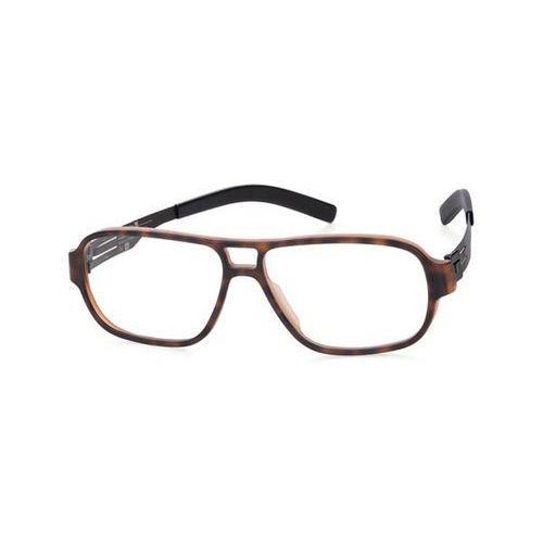Okulary korekcyjne, Okulary Korekcyjne Ic! Berlin A0636 Lars G. Tortoise Shell-Matt