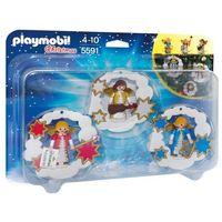 Klocki dla dzieci, Playmobil CHRISTMAS Dekoracja świąteczna aniołki 5591 - BEZPŁATNY ODBIÓR: WROCŁAW!
