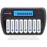 Ładowarki do akumulatorków, Ładowarka everActive NC-800 8 niezależnych kanałów