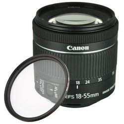 CANON 18-55 f/4-5.6 IS STM oem + FILTR UV / WYSYŁKA GRATIS / RATY 0% / TEL. 500 005 235