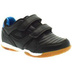 Buty halowe dla dzieci American Club 23/20 Royal - Czarny ||Niebieski