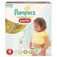 Pieluchy jednorazowe, Pampers Premium Care pieluchomajtki, Rozmiar 4, Maxi 38 szt.