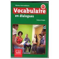 Książki do nauki języka, Vocabulaire en dialogues Niveau intermediaire + CD - Evelyne Sirejols (opr. kartonowa)