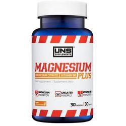 Minerały UNS MAGNESIUM PLUS 30 tabl. Najlepszy produkt Najlepszy produkt tylko u nas!