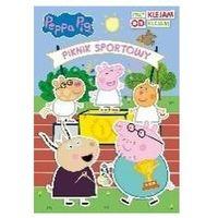 Książki dla dzieci, Świnka Peppa. Przyklejam, odklejam.Piknik sportowy (opr. broszurowa)