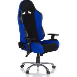 Krzesło biurowe GS RACEMASTER RS Series - czarno-niebieskie