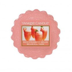 YANKEE CANDLE WOSK WHITE STRAWBERRY BELLINI 22G