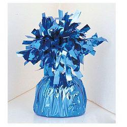 Obciążnik foliowy do balonów napełnionych helem - niebieski - 176 g.
