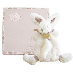 Szara przytulanka - słodki króliczek