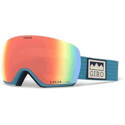 Giro Lusi Gogle, powder blue alps/vivid royal/vivid infrared 2020 Gogle narciarskie